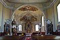 Kath Pfarrkirche St Leonhard am Hornerwalde - Innen.jpg