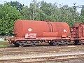 Kecskemét vasútállomás Zaekks tartálykocsi 2010-08-15.JPG