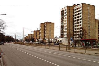 Ķengarags Neighborhood of Riga in Latvia