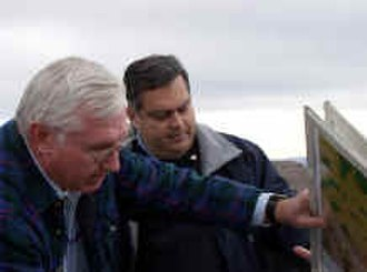 Spencer Abraham - Abraham working as the Secretary of Energy near Yucca Mountain