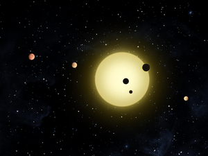 The Kepler-11 planetary system, with at least ...