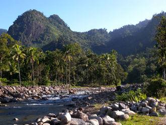 Kerinci Seblat National Park - A river in Kerinci Seblat National Park