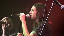 Kevin Young Lead Singer of Disciple Jan 13 2009.JPG