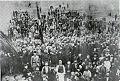 Kichevo Young Turk Detachment in Bitolya 15 July 1908 Commanded by Kel Ali Bey Anastas Mitrev (III) Metodi Strashenov (IV) Simeon Poplazarov (V).jpg