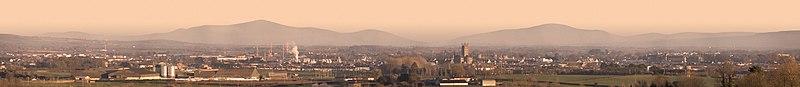 Kilkenny city panorama 2006-01-29