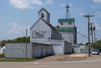Kimball, Minnesota - Kimball grain elevator.