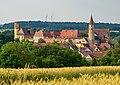 Kirchberg an der Jagst - Altstadt - Ansicht von SSW (2018-06-16).jpg