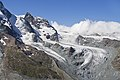 Klein Matterhorn and Unterer Theodulgletscher from Gornergrat, Wallis, Switzerland, 2012 August.jpg