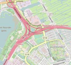 Knooppunt Coenplein kaart.png
