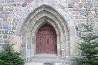 Kościół Lubiechów Górny woj. zachodniopomorskie portal główny.jpg
