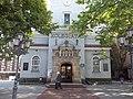 Kościół parafialny p.w. NMP Królowej Polski wraz z cmentarzem przykościelnym (zieleńcem) i ogrodzeniem w Gdyni, by PrzemaS93 (4).JPG
