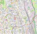 Košice Staré Mesto location map.png