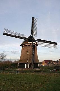 Koedijk Place in North Holland, Netherlands