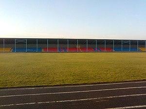 Komsomolske, Donetsk Oblast - Image: Komsomolske Metalurh Stadium
