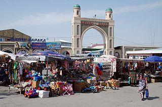 Konibodom Town and Jamoat in Sughd, Tajikistan