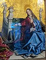 Konrad witz, presentazione del cardinale di metz alla madonna e al bambino, 1444, 03.JPG
