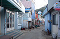 Korea-Heuksando-port back streets 11-02866.JPG
