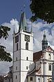 Kostel Všech svatých z náměstí.JPG