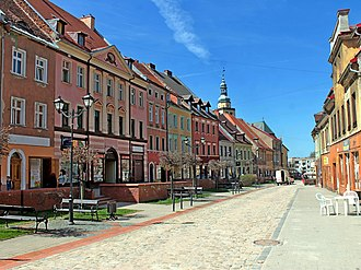 Kowary - Centre of town