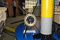 Krasnopol-M2 laser-guided projectile at Engineering Technologies 2012 Rear.jpg