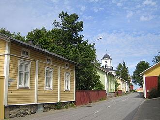 Ostrobothnia (region) - Image: Kristinestad street 1