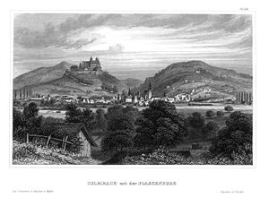Kulmbach - Historic view of Kulmbach