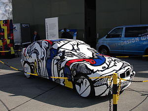 BMW Art Car - Unofficial BMW Art Car by Walter Maurer