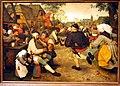 Kunsthistorisches Museum Wien, Pieter Bruegel d.Ä., Bauerntanz.JPG