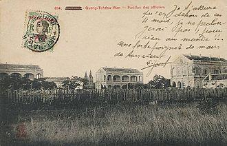 Guangzhouwan - Fort-Bayard circa 1910