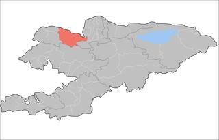 Talas District, Kyrgyzstan Raion in Talas Region, Kyrgyzstan