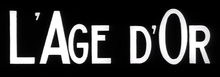 Description de l'image L'Age D'Or logo.png.