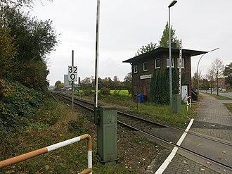 Lüdinghausen railway station - Image: Lüdinghausen BF JM 21