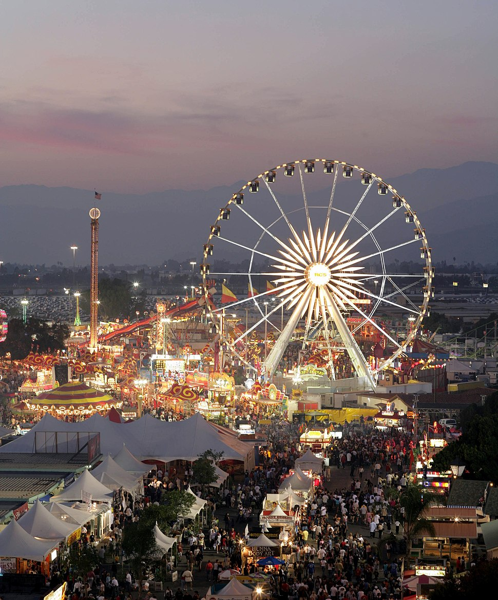 L.A. County Fair at Dusk