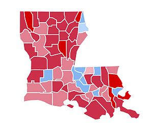 United States presidential election in Louisiana, 1984 - Image: LA1984