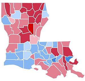 United States presidential election in Louisiana, 1988 - Image: LA1988