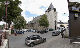 La Hulpe Municipality in French Community, Belgium