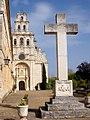 La Vid - Monasterio de Santa María, exterior 04.jpg