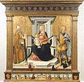 La Vierge et l Enfant avec saint Michel et saint Blaise - Neri di Bicci.jpg