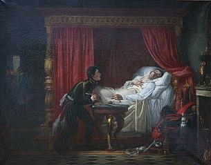 La mort du général Moreau