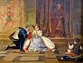 La reine Elisabeth 1ere et Leicester-William Frederick Yeames-MBA Lyon 2014.jpeg