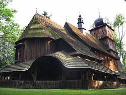 Lachowice, kościół p.w. św. Piotra i Pawła