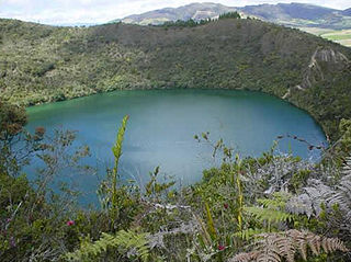 lake in Cundinamarca Department, Colombia