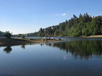 Lake Gregory (California) - Image: Lake Gregory