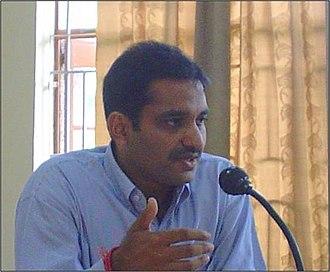 Bhim Rao Ambedkar College - Lalit Kumar, HOD, BBE(2006-07) delivering lecture