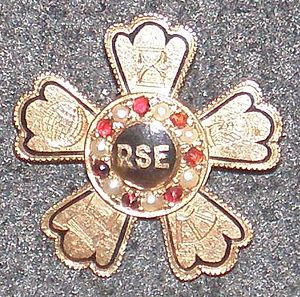 Rensselaer Society of Engineers -  Landon F. Strobel, Rensselaer Class of 1902 RSE member pin
