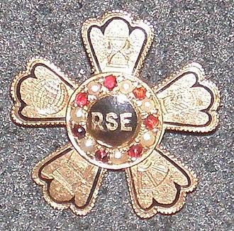 Rensselaer Society of Engineers -  Landon F. Strobel, Rensselaer Class of 1902 RSE member pin