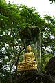 Laos - Luang Prabang 28 - Buddha and the cobra at Wat Chom Si (6582069837).jpg