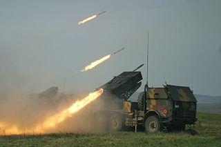 LAROM Type of Multiple Rocket Launcher