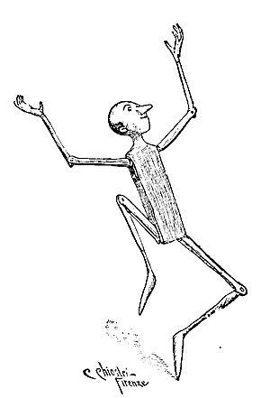 Pinocchio - Pinocchio, by Carlo Chiostri (1901)
