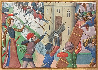Assault undertaken in September 1429 during the Hundred Years